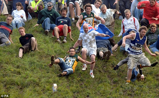 Police warned local cheese-makers they could be liable for any injuries at the event, which began in the 1800s, so organisers will use a Gouda from Holland instead this year in the hope of side-stepping any prosecution