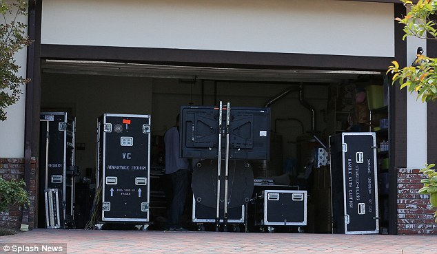Garage sale: The equipment was safely stowed, ready to start filming the next tranche of True Tori