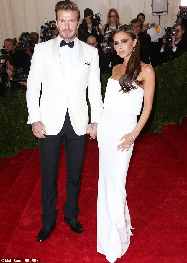 There in black and white: The fashion-conscious couple made a splash at the prestigious Met Ball in New York on May 5