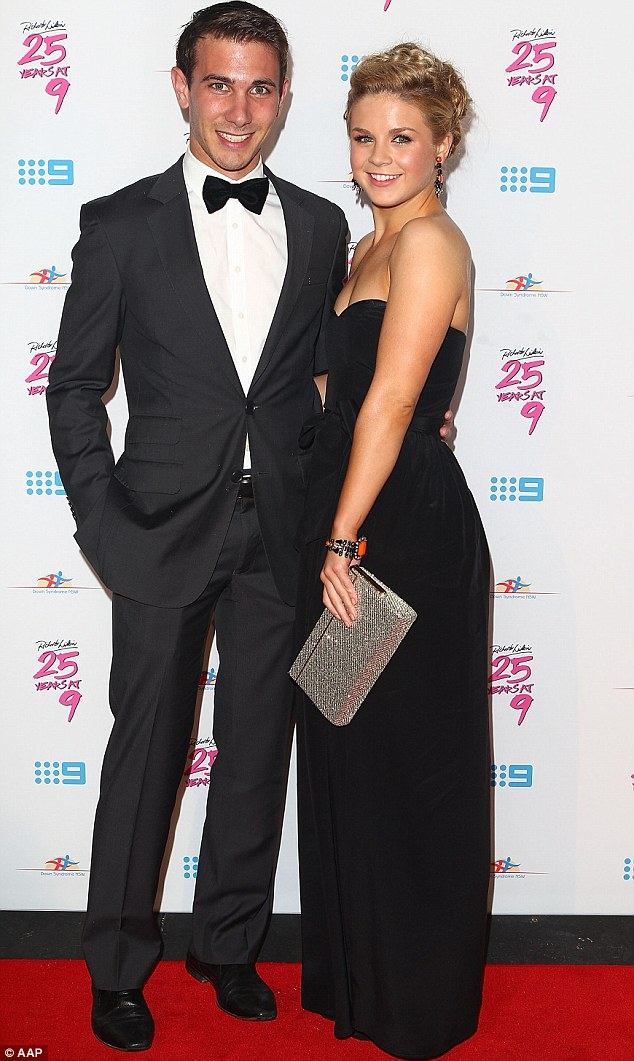 Split: They had talked about marriage but Emma Freedman has confirmed she has now parted ways from Tim Myers