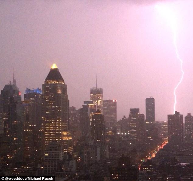 Apocalyptic storm dampens memorial day weekend getaways in for Weekend getaways in new york