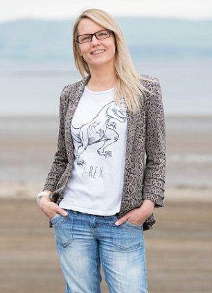 Feeling good: Katrina Macdonald is a regular volunteer at Glastonbury