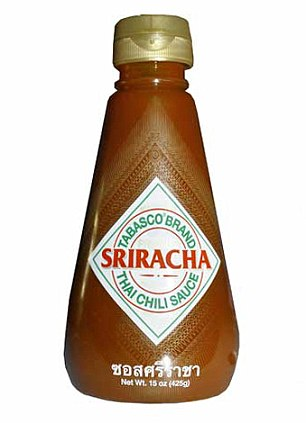 Battle of the hot sauce: Tabasco has launched its own take (left) on Huy Fong's classic Sriracha sauce (right), which is distinctively spicier than its predecessor, and inspired love-it-or-hate-it reactions from Femail staffers