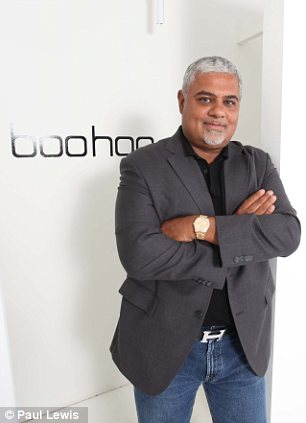 Modest: Mahmud Kamani at his Manchester HQ