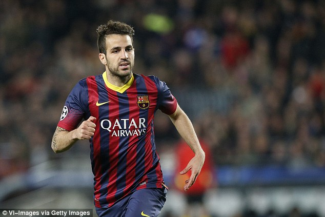 No summer move: Manchester United are not interested in Barcelona midfielder Cesc Fabregas