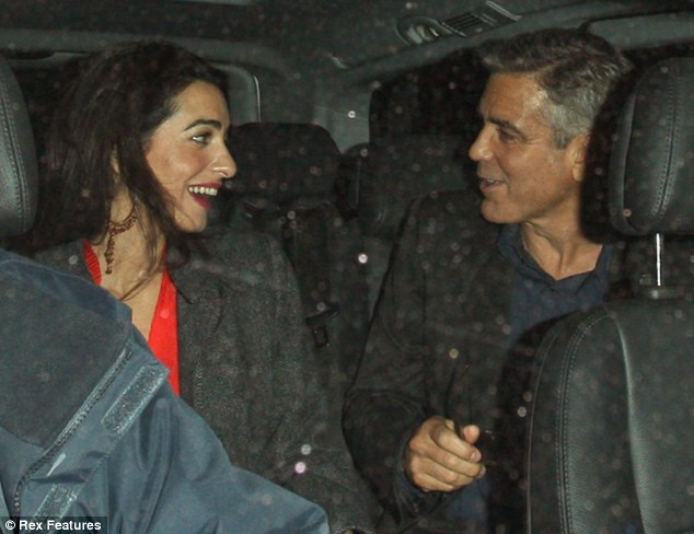 Good guy George: Clooney made sure that his ring for Amal Alamuddin was ethically sourced and not a blood diamond