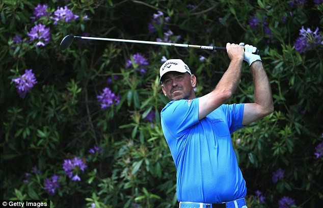 Scandinavian pride: Thomas Bjorn hit a 62 on the opening day but couldn't replicate that form on Sunday