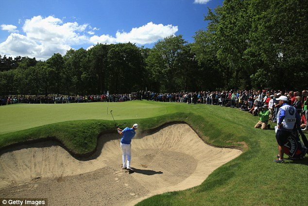 Sandy landing: bjorn blew the tournament open when he triple bogeyed the 6th hole