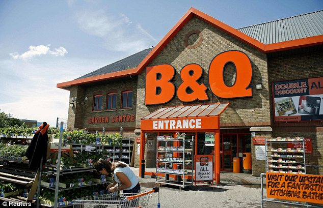 Doubts: B&Q owner Kingfisher has had its £202million takeover of do-it-yourself retailer Mr Bricolage thrown into doubt todayafter it emerged board members and major shareholders have reservations about the deal