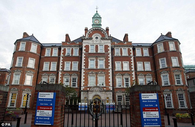 Hammersmith Hospital, West London, where 28 per cent of patients have diabetes, had the second highest rate, according to the survey. Experts say there is a link between diabetes rates and obesity levels