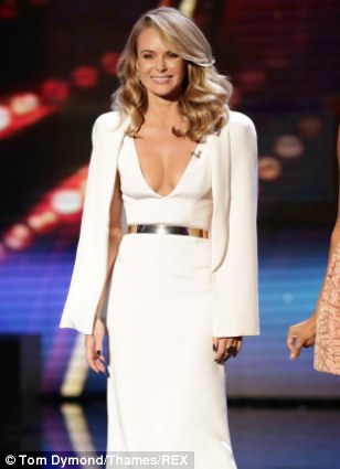 Amanda Holden eschews her bra on BGT