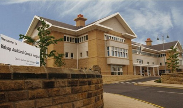 According to NHS figures, Bishop Auckland Hospital, County Durham, has 35 per cent of patients who are diabetic - the highest rate in the country. The condition is putting an increasing strain on the health service and is expected to cost the NHS £17bn in 20 years