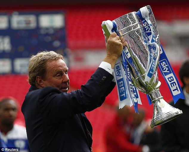 Following: Redknapp said that Barton, who is taking his coaching badges, could follow him into management