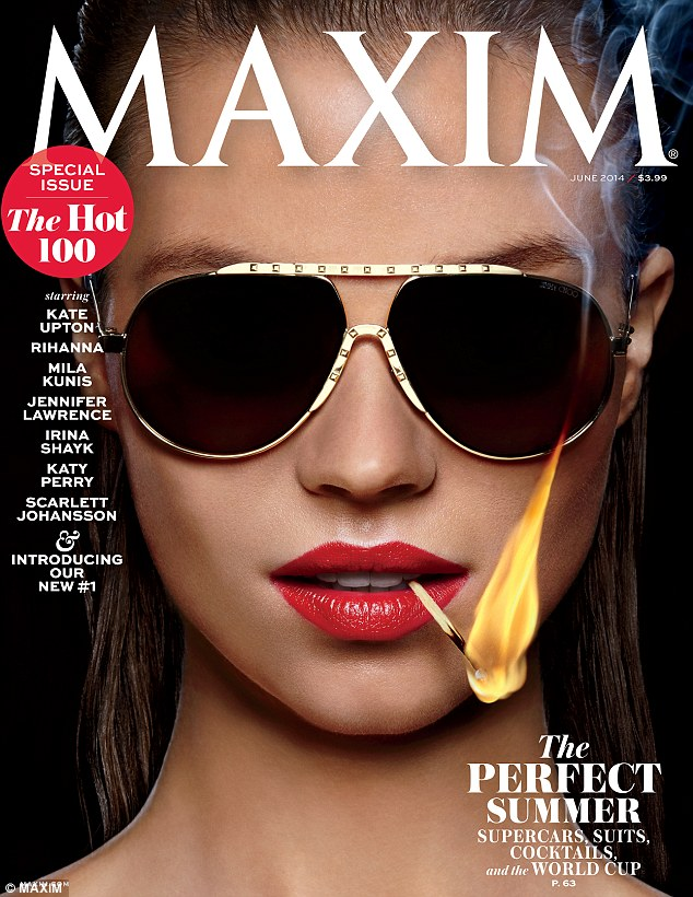 Hot 100: Last month, Alessandra nabbed the #7 spot on Maxim's Hot 100, which also ranked Candice Swanepoel, Scarlett Johansson, and Jennifer Lawrence in the top 10