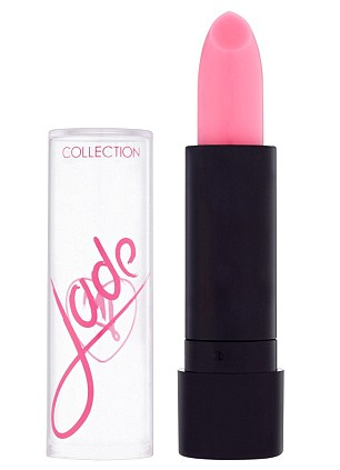 Cute: Perrie said: 'The lip balms were so much fun to create, mine is just shimmery as I have no sense of smell, whereas Jade's is pink and comes in raspberry flavour as she is sweet as'