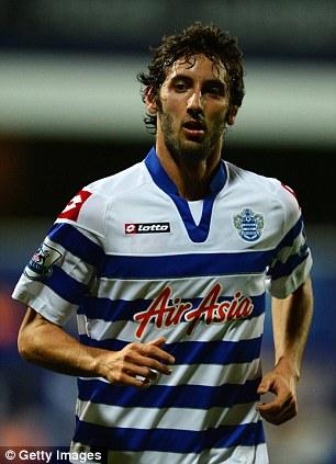 QPR's on loan midfielder Esteban Granero