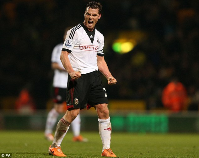 London: Fulham's Scott Parker could be tempted to join QPR, who can now offer Premier League football