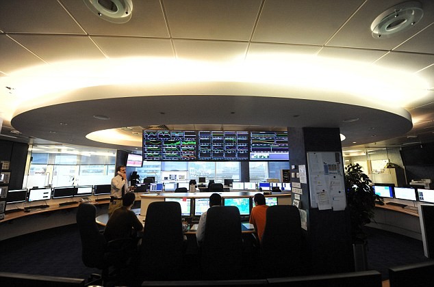 The Inmarsat control room. The British satellite firm's data, which contains signals sent by MH370 will be reanalyzed