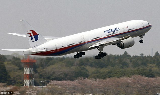 Malaysia's acting transport minister Datuk Seri Hishammuddin Hussein announced the data that helped track MH370 (pictured) will be released to the public tomorrow