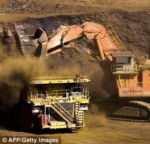 Bucking the trend: Rio Tinto will develop two blocks of the vast Simandou iron ore prospect in Guinea