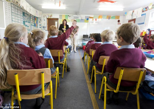 Researchers have found that the colourful covering could actually be distracting pupils
