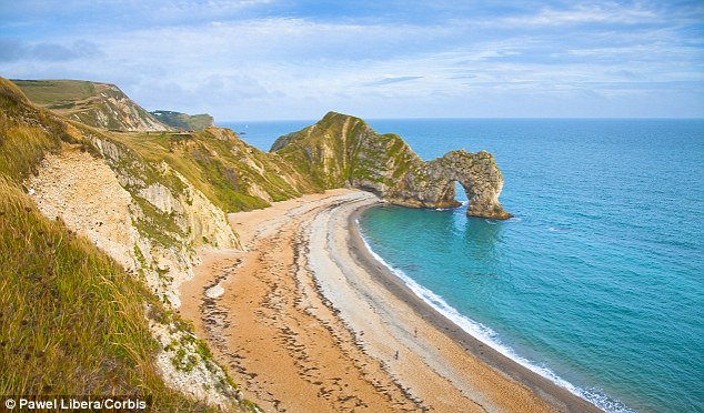 Controversy: The Jurassic Coast is famed for its lack of man-made buildings, keeping it as a natural attraction