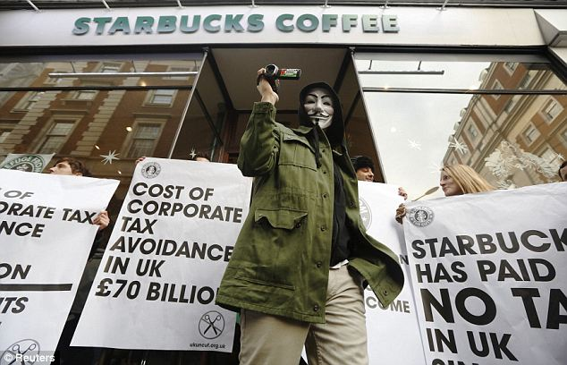 Crackdown: HMRC collected £24billion in unpaid taxes in 2013 following a crackdown