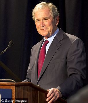 Health: Bush, 67, had a stent operation in August