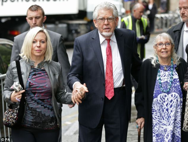 His revelation came after Harris told the court Bindi (left, today) was 'furious' when she learned of the affair
