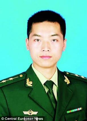 Captain Lu Liang was one of three fire fighters killed when a trench collapsed on top of them