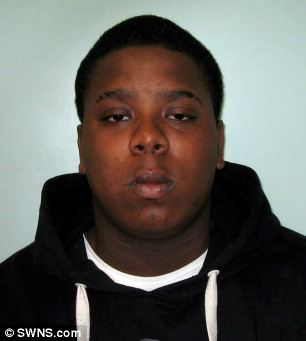 Deandre Riley-Reid was given a youth rehabilitation order for his role in the crimes