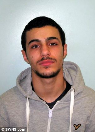 Walid Hnida has now been sentenced for his part in the robberies