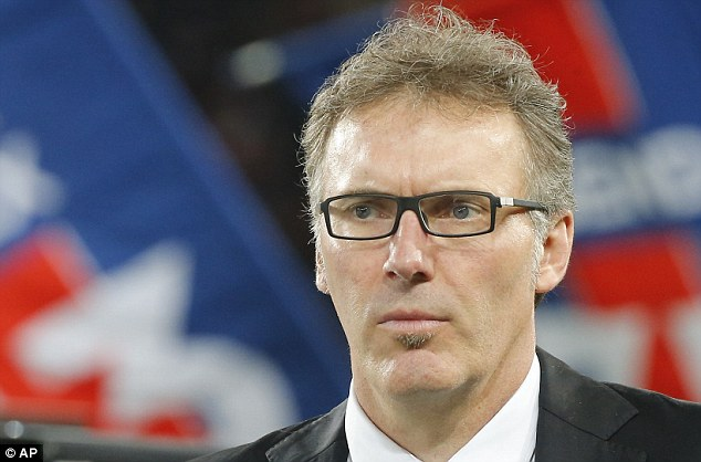 Having his say: PSG boss Laurent Blanc hasn't been shy in coming forward to talk about Hazard recently