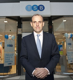 Warning: TSB boss Paul Pester said investors must 'understand what they are buying into'