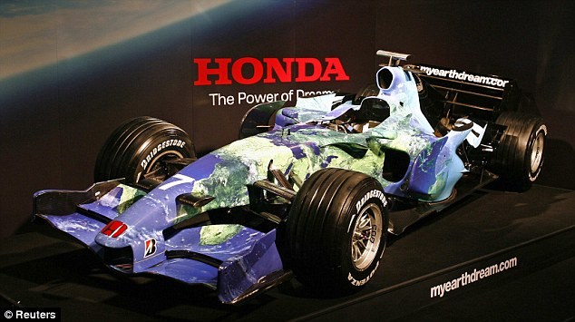 Not involved: McLaren have said that Honda will only be involved in power unit development