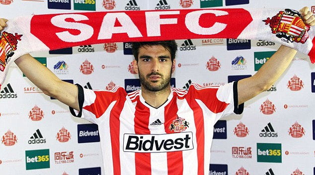 New face: Spanish midfielder Jordi Gomez has signed a three-year deal with Sunderland from Wigan