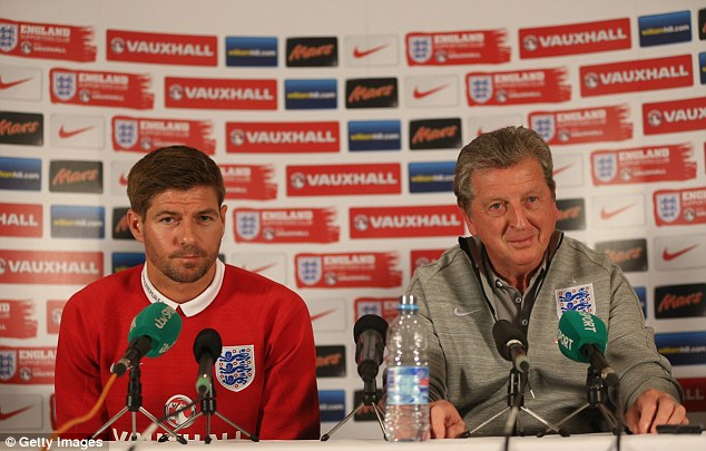 Side by side: Gerrard and Hodgson both spoke of the positive feeling in the squad
