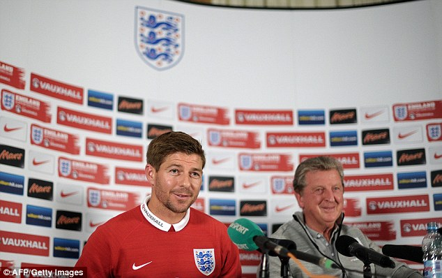 Club class: Gerrard was pleased that people were talking about Liverpool players in a positive light