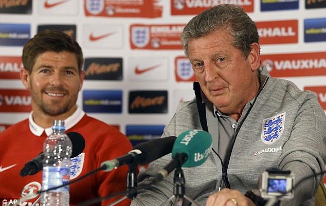 No worries: Gerrard is not worried about Luis Suarez's fitness