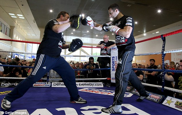 Raring to go: Froch admits he underestimated Groves before their first fight but won't do so again