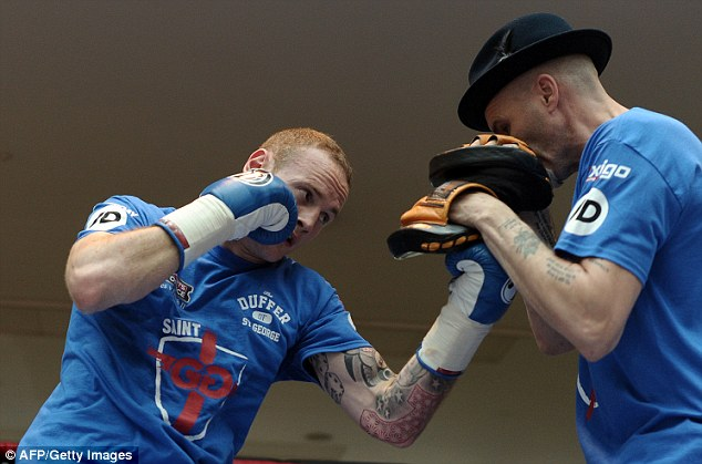 Focused: Groves is confident he can exact his revenge and beat Froch to become world champion