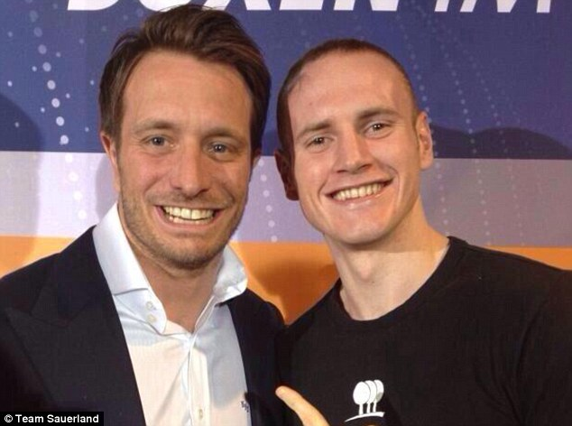 All change: Groves has signed with promotional outfit Sauerland before his rematch with Froch