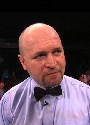 Referee Charlie Fitch