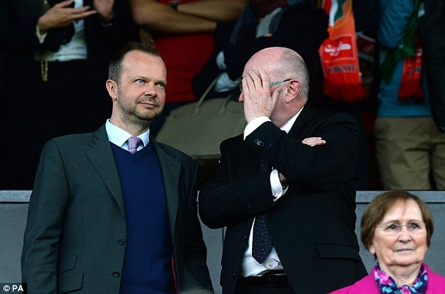 Getting it right: Ed Woodward played a key role in the appointment of Van Gaal