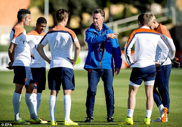 Getting the team together: Van Gaal will be chared with getting the United players pulling in the same direction