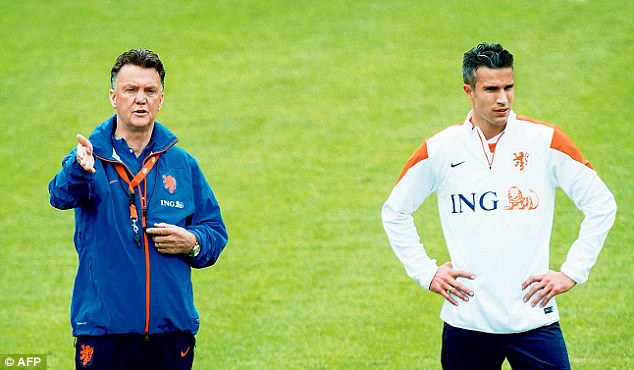 New man in charge: Louis van Gaal will take over at Manchester United after the World Cup