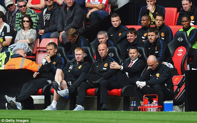 A pipe dream: Giggs and his fellow Class of 92 teammates Nicky Butt, Paul Scholes and Phil Neville would never have worked at this time