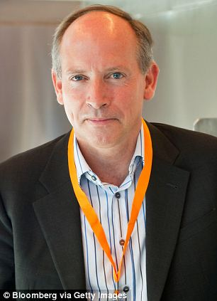 Cautious comment: Kingfisher chief executive Sir Ian Cheshire said 'the first quarter is one of our smallest and the growth achieved largely reflects comparisons with the very difficult start to last year.'