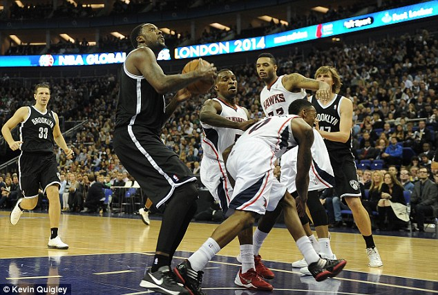 Flashback: The Brooklyn Nets beat the Atlanta Hawks at the O2 Arena in January this year