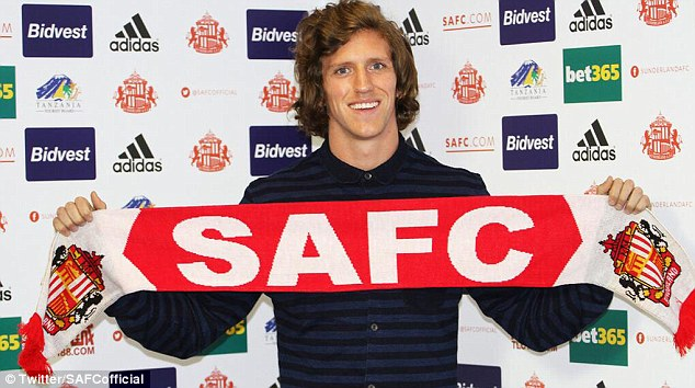 Sign him up: Billy Jones turned down a deal with West Brom to move to Sunderland as the Black Cats rebuild